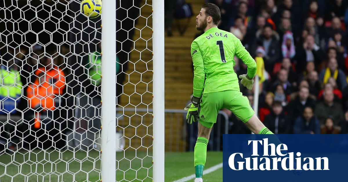 David de Gea gaffe sets Watford on path to shock win over Manchester United