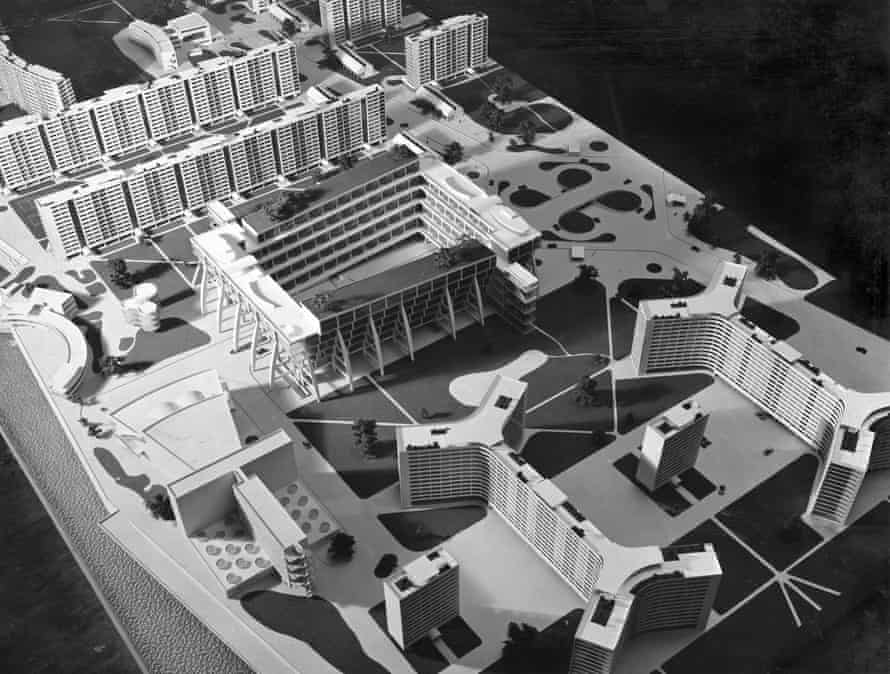 Blooming marvellous … a rendering of Breuer's Garden City of the Future.