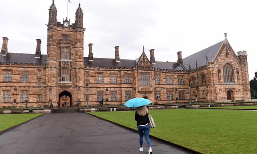The University of Sydney main building.