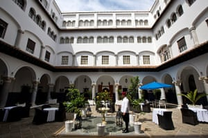 Tangier's El Minzah hotel