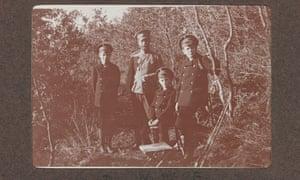 A hunting trip with Nicholas II.