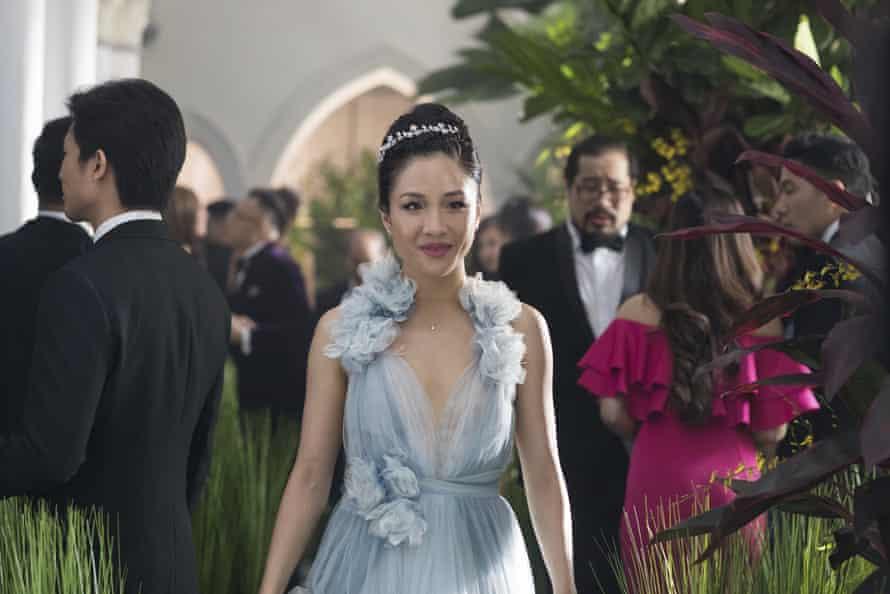 Wu as Rachel Chu in Crazy Rich Asians.