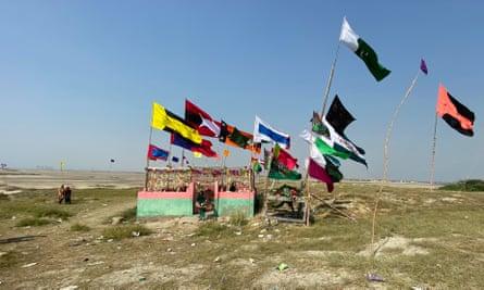 Bundal island shrine, Nov 2020, Pakistan