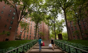 """""""I think most young people would say there are too many old people here, and most old people would say there are too many young people"""" ... Stuyvesant Town."""