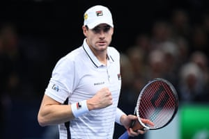 Isner takes the second set.