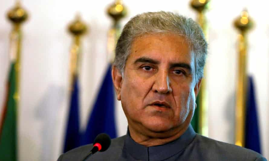 Shah Mahmood Qureshi, Pakistan's foreign minister