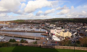 Whitehaven in Cumbria. Hansen is concerned that going ahead with the nearby mine will be seized on by supporters of fossil fuels around the world.
