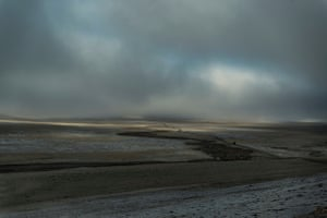 The expedition across the steppes of the Tibetan plateau reaches an altitude of 4,500 metres