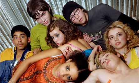 'Of course it's bleak' … the cast of Skins.