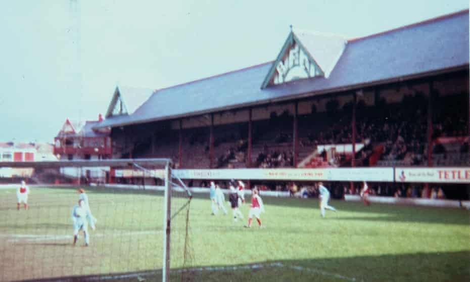 Bradford Park Avenue folded in 1974.