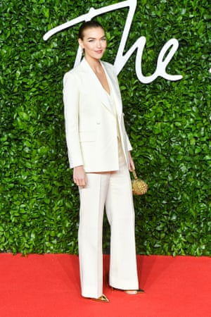 Arizona Muse wearing the sustainable fashion brand Deck