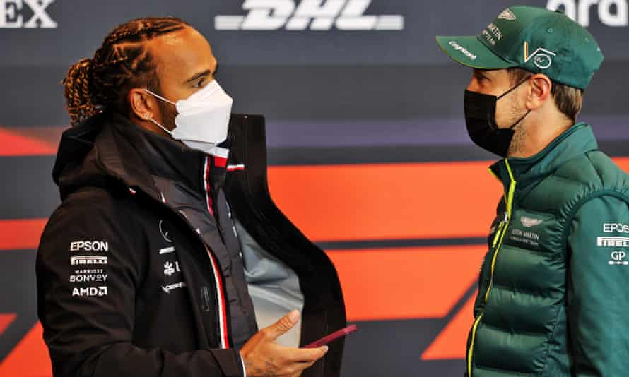 Sebastian Vettel has been unable to compete with the world champion Lewis Hamilton in recent years.