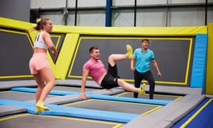 From just one trampoline centre in 2014, the UK now has 96 and a further 20 are under construction.