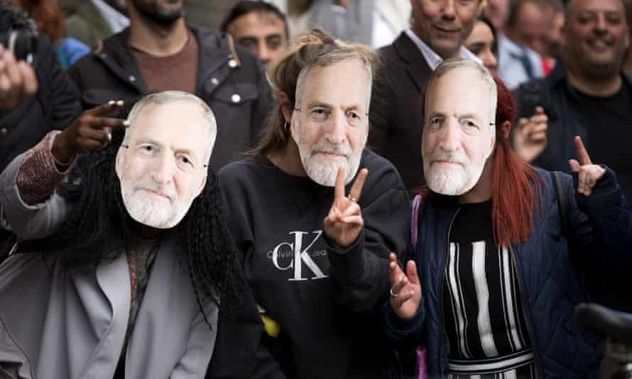 jeremy Corbyn supporters
