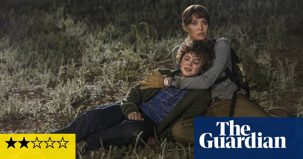 Those Who Wish Me Dead review – Jolie smoulders in predictable thriller