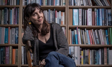 Emily Perkins at home in Wellington