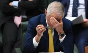 Australian prime minister Malcolm Turnbull speaks during house of representatives question time at parliament house in Canberra, 23 October 2017.