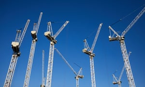 Cranes in Manchester