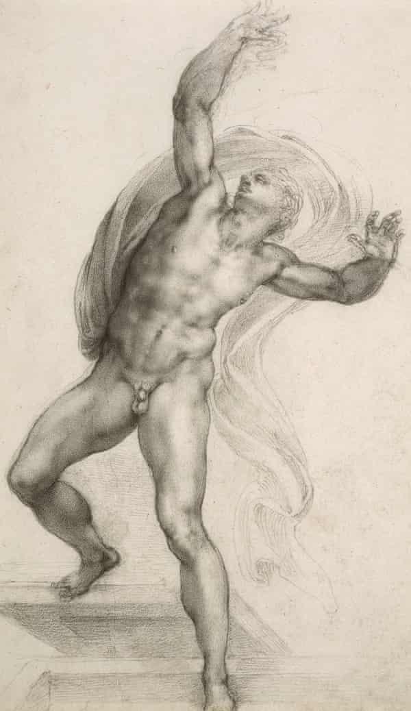 Michelangelo's The Risen Christ.