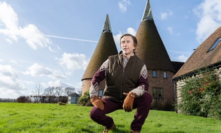 Steve Coogan as Alan Partridge in From the Oasthouse.