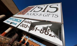 'Send your energy' … Isis Books and Gifts in Englewood, Colorado, has a new goddess sign.