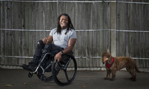 Paralympian turned TV presenter, Ade Adepitan
