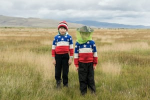 Aidomir and Zhanomir, selo Kosh-Agach, Altai republic by Nadezhda Areshina, finalist