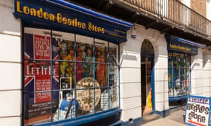 Large parts of London's Baker Street, including the Beatles store, are owned by offshore trusts.