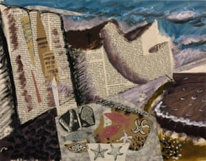 Beach With Starfish c1933-4 by John Piper.