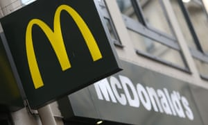 McDonald's 'will always have an important human element', the CEO said.
