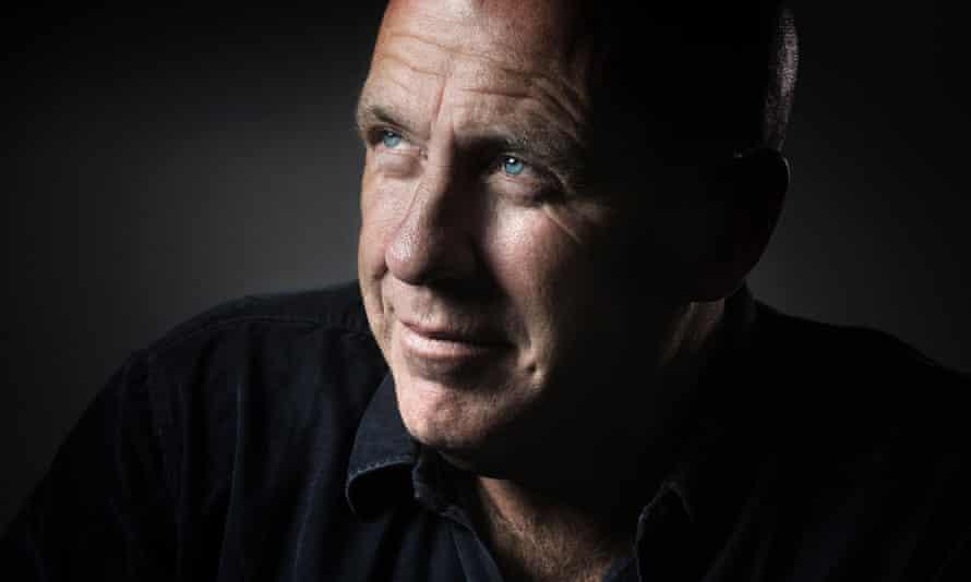 Relaxed and confiding … Richard Flanagan.