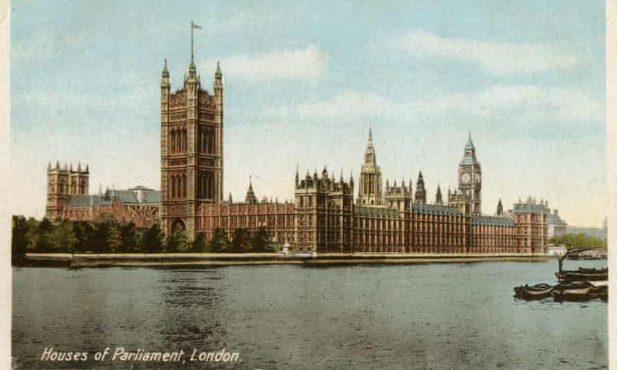 Houses of Parliament, Westminster, London.