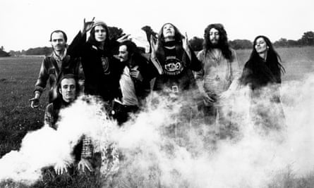 Gong in 1970 … Whimsy by the bucketload.