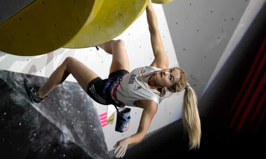 Shauna Coxsey will compete for Team GB as sport climbing makes its Olympic debut in Tokyo.