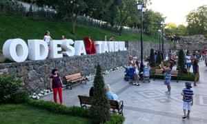 Odessa's new Istanbul garden.