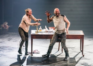 The NT is one of three new British productions of Macbeth that will open in coming weeks – Adele Thomas's is at Bristol Tobacco Factory and the RSC offers up a staging that stars Christopher Eccleston