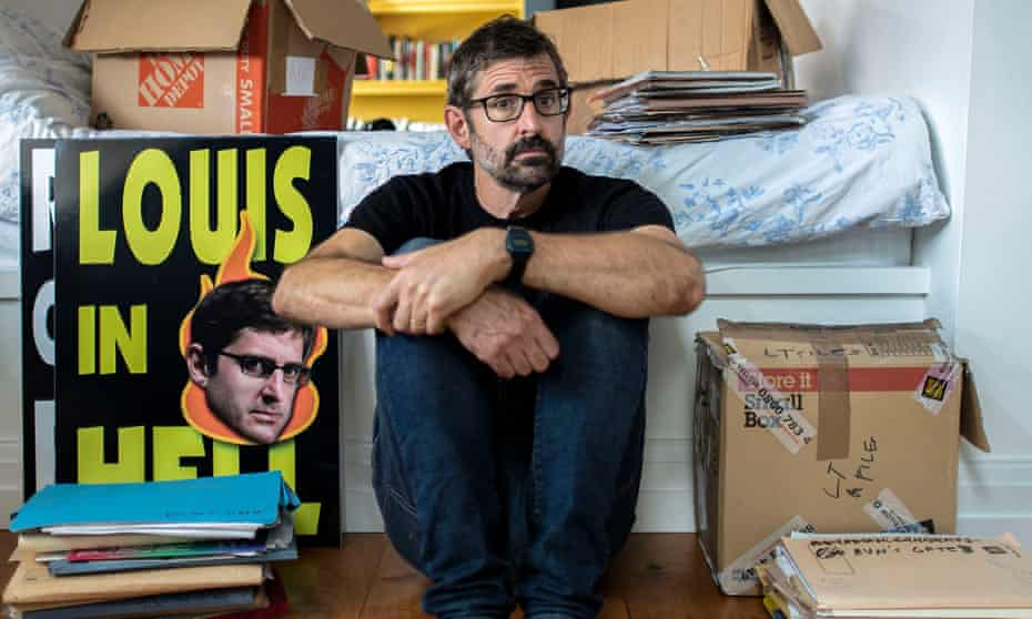 Going with the pro ... Louis Theroux.