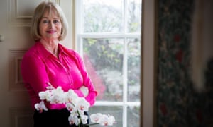 Baroness Corston at home in Gloucestershire.