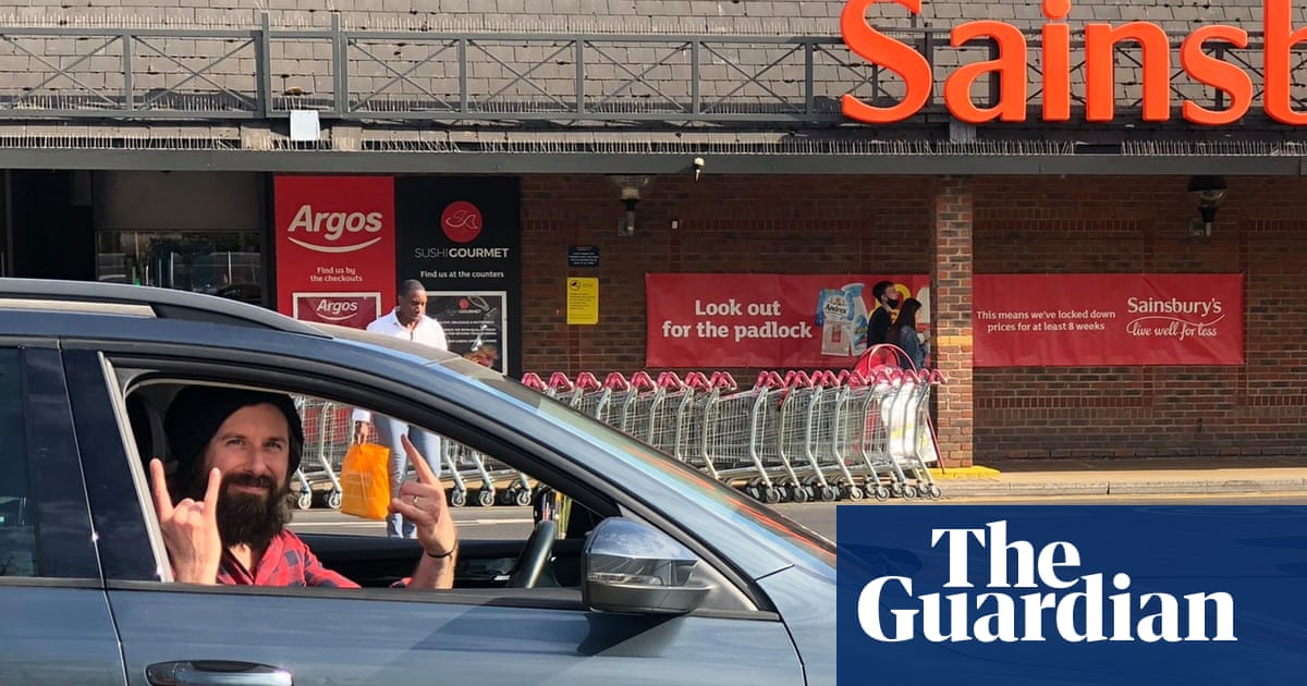 Parking mad: UK man completes mission to park in every spot at local supermarket
