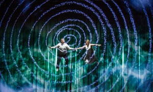 'For Mozart, there was no contradiction between sophistication and entertainment.' Lucy Crowe as Pamina and Allan Clayton as Tamino in The Magic Flute.