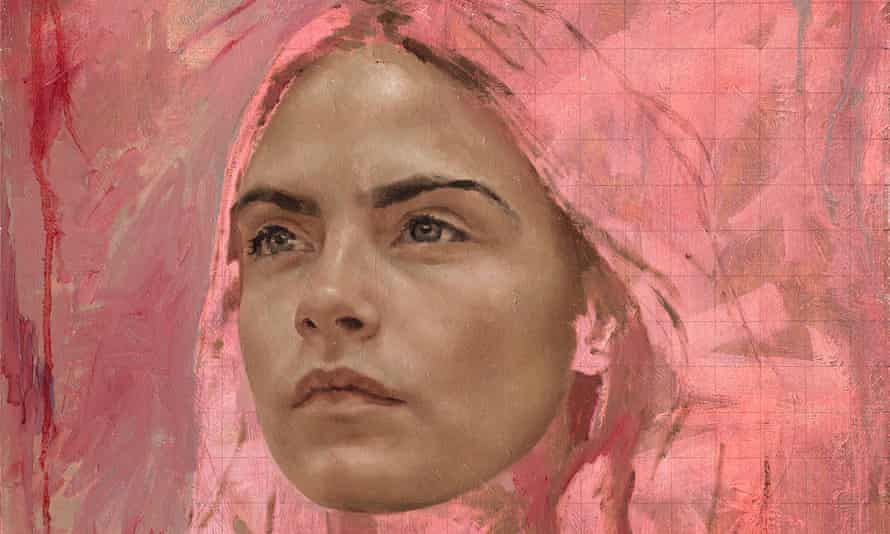We are not a muse... Cara Delevingne, painted by Jonathan Yeo.