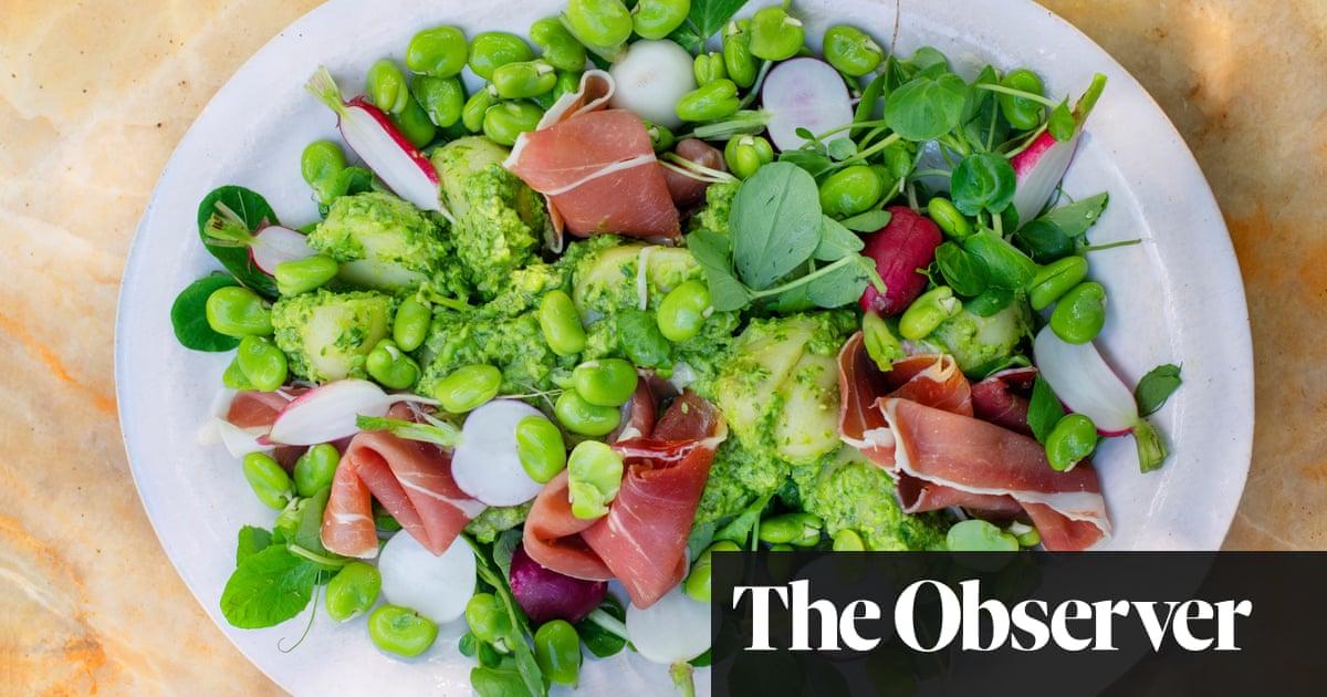 Fresh peas, asparagus, wild garlic – Nigel Slater's revitalising spring recipes