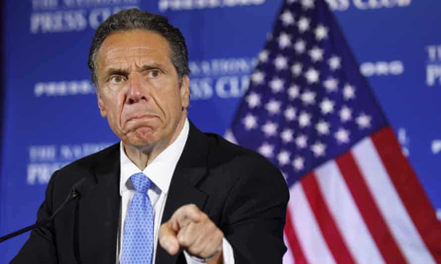 Andrew Cuomo speaks in Washington DC on 27 May 2020.