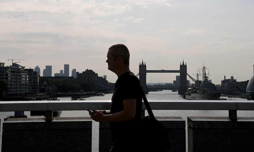 In London just 15% of workers had returned to their offices by the end of July this year
