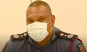 Papua New Guinea pandemic controller and police commissioner David Manning