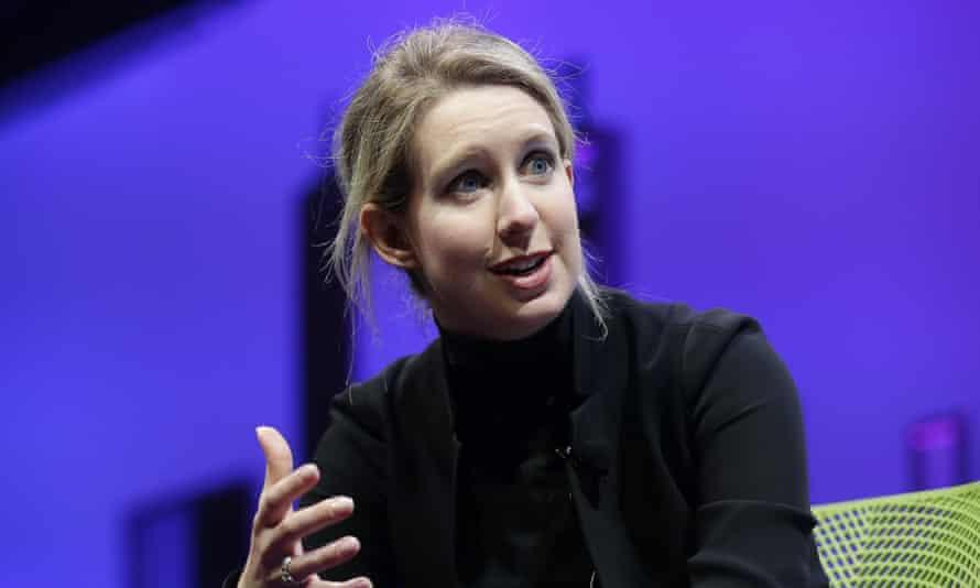 Elizabeth Holmes in 2016.