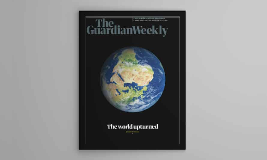 The cover of the 3 April edition of Guardian Weekly.