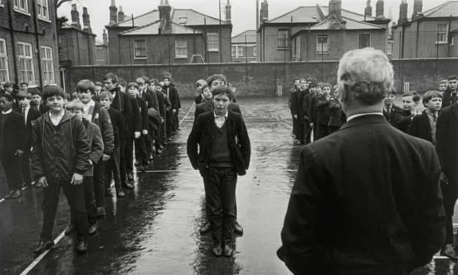 Battersea secondary school in London in 1967.