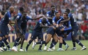 France celebrate.