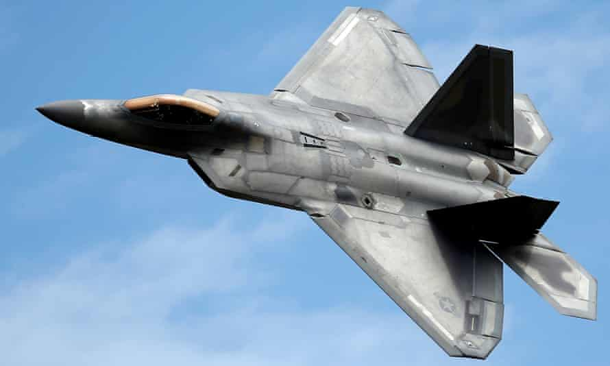 The F-22 fighter jet was one of the targets of Su Bin and a group of Chinese military hackers.